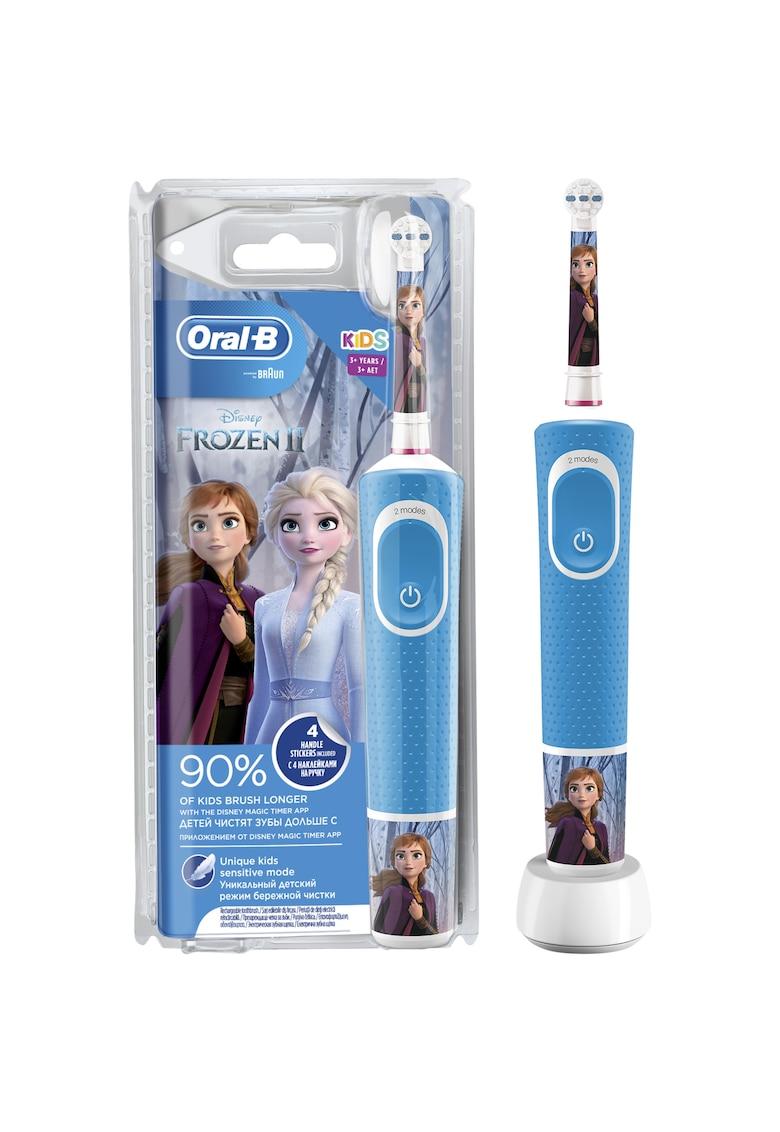 Oral-B Periuta de dinti electrica  D100 Vitality Cars pentru copii 7600 oscilatii/min - Curatare 2D - 2 programe - 1 capat - 4 stickere incluse