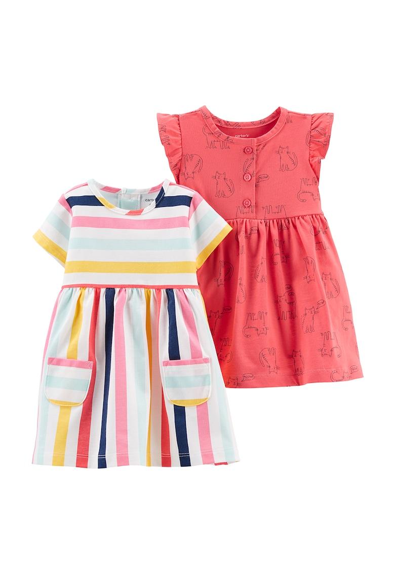 Set de rochii cu imprimeu - 2 piese Carter's