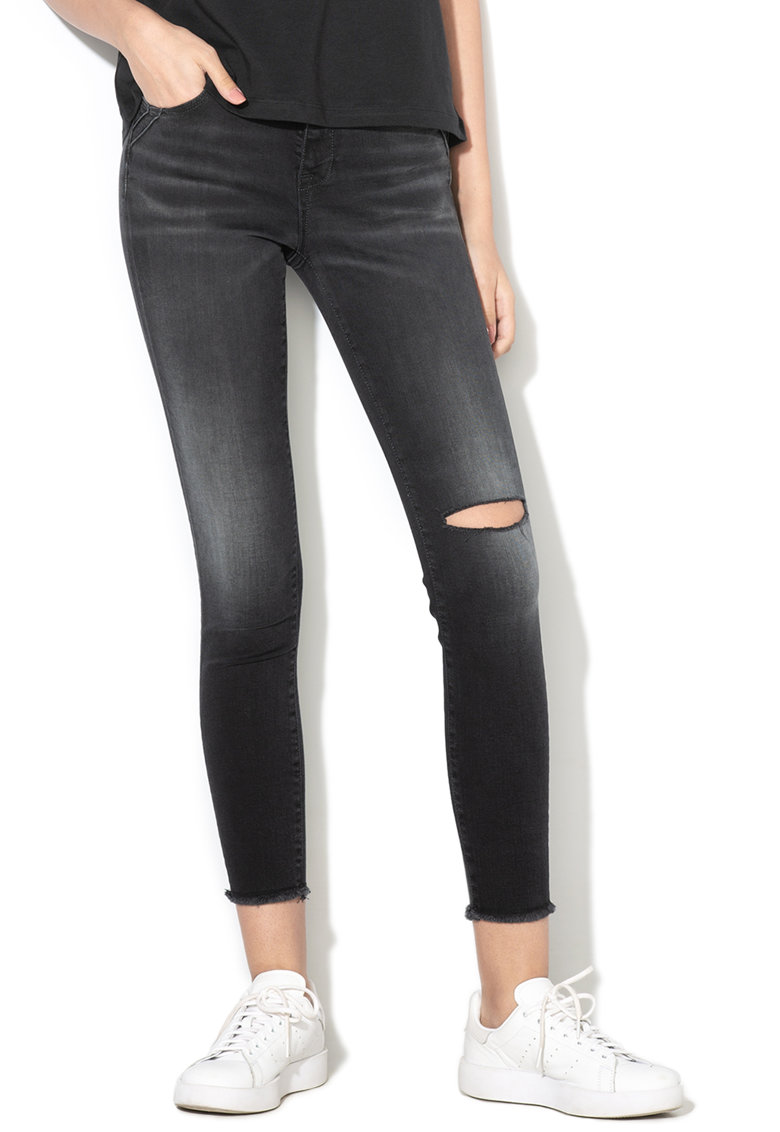 Blugi crop skinny Lisa