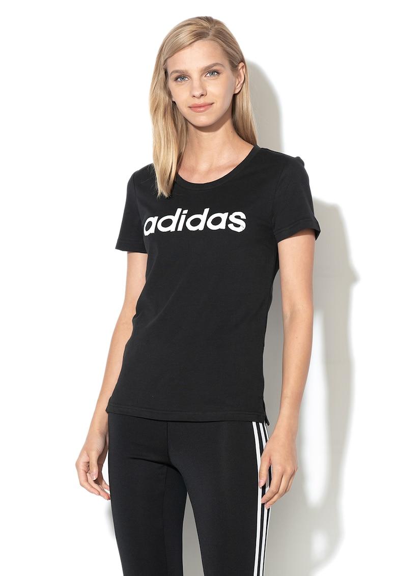 Tricou cu logo - pentru fitness Linear