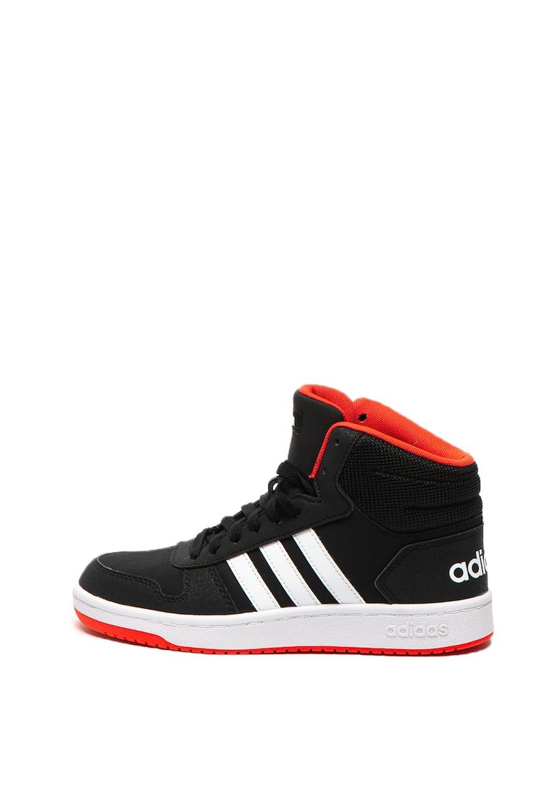 Adidas PERFORMANCE Pantofi sport mid-high cu insertii de piele ecologica