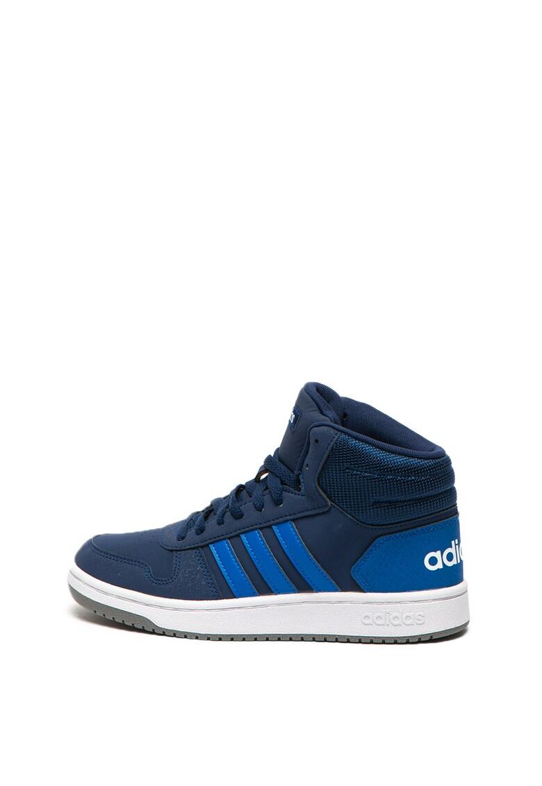 Pantofi sport mid-high Hoops 2.0