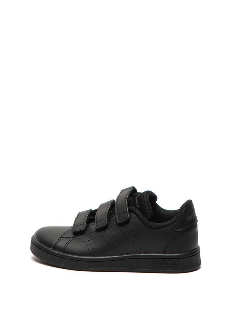 Pantofi sport de piele ecologica – cu velcro Advantage C Adidas PERFORMANCE