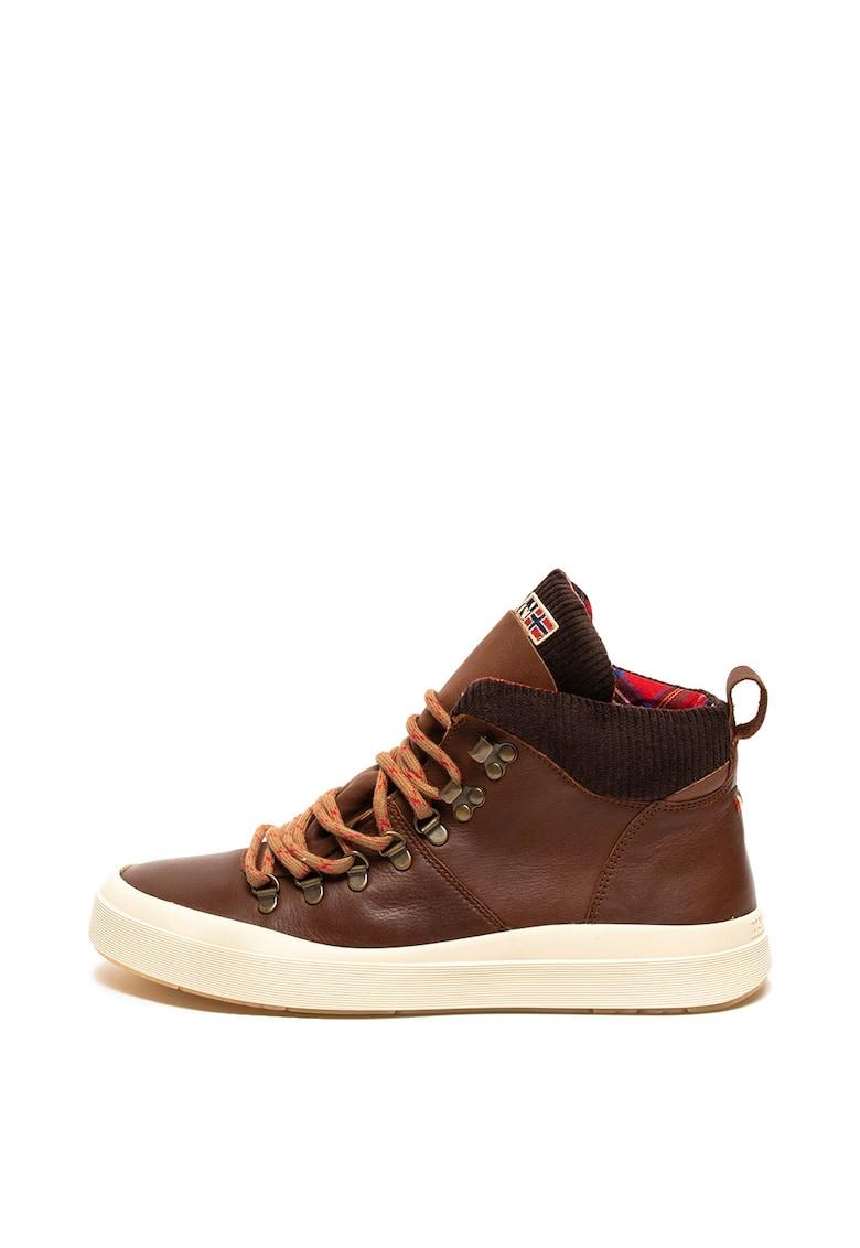 Pantofi sport mid-high de piele Blast