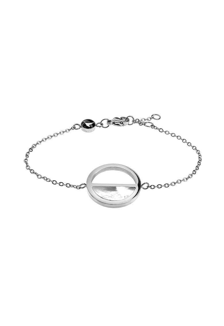 Bratara cu talisman circular