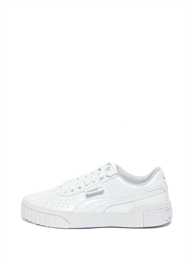 Pantofi sport cu aspect lacuit Cali