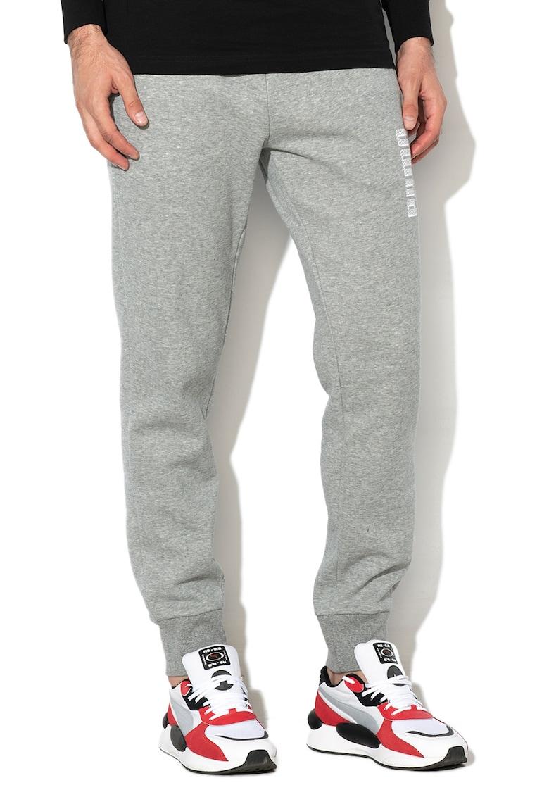 Pantaloni jogger cu logo brodat Athletics de la Puma