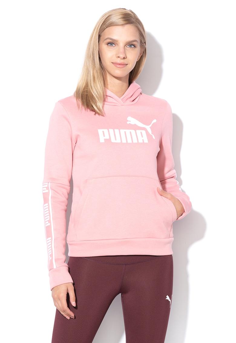 Hanorac regular fit cu imprimeu logo Amplified Puma