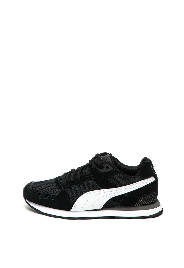 Puma Pantofi sport cu garnituri de piele intoarsa Vista Jr