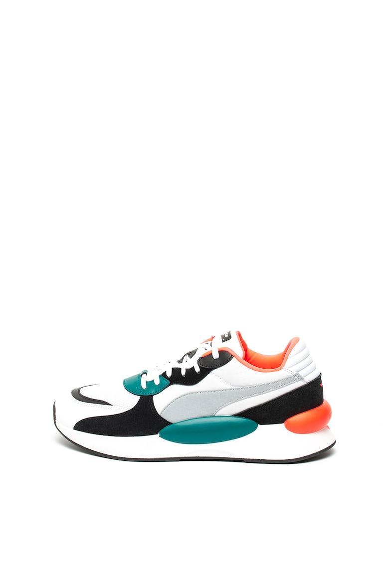 Pantofi sport cu garnituri de piele intoarsa RS 9.8 Space