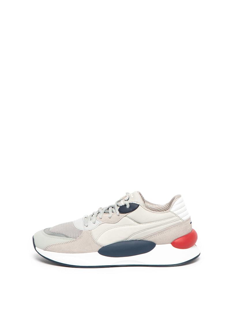 Pantofi sport cu model colorblock si brant ergonomic RS 9.8 Gravity