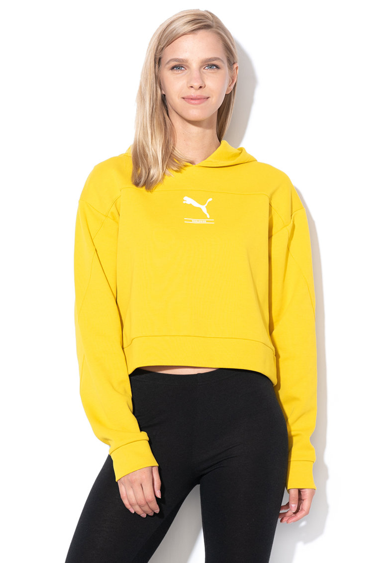 Puma Hanorac crop relaxed fit Nu-Tility