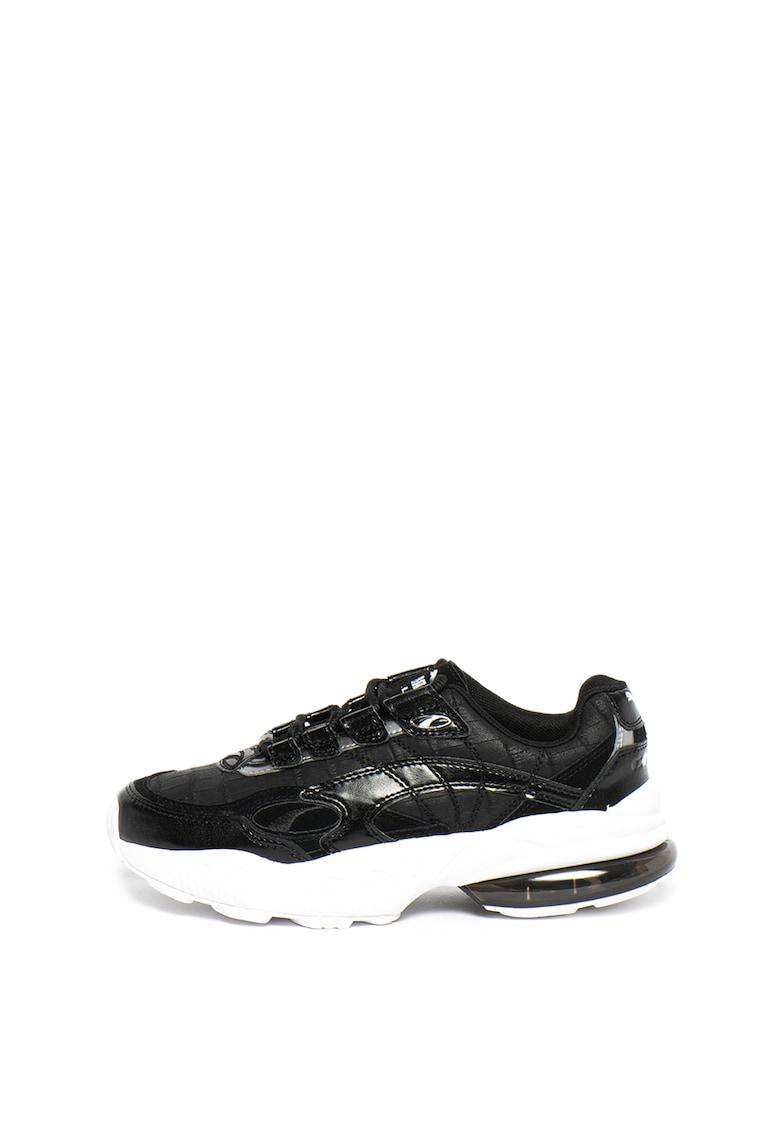 Pantofi sport de piele cu aspect piele de crocodil Cell Venom Hypertech