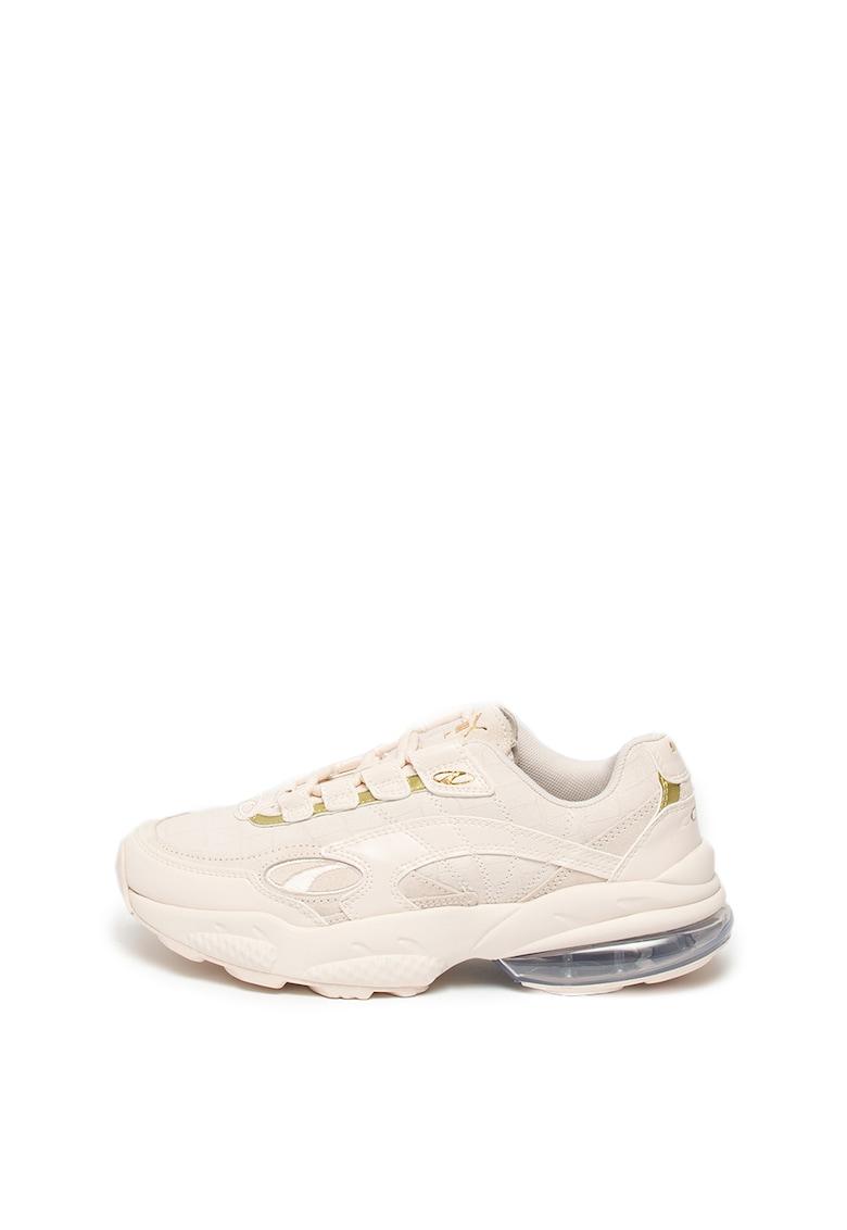 Pantofi sport de piele cu garnituri de piele intoarsa Venom Hypertech