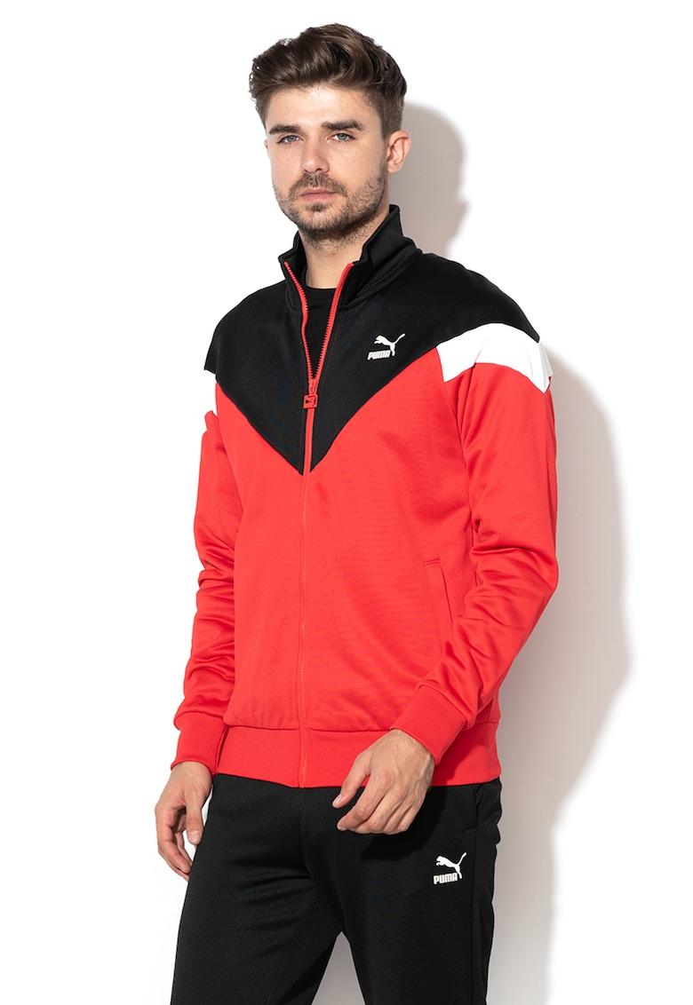 Bluza sport cu fermoar - pentru fitness Iconic MCS