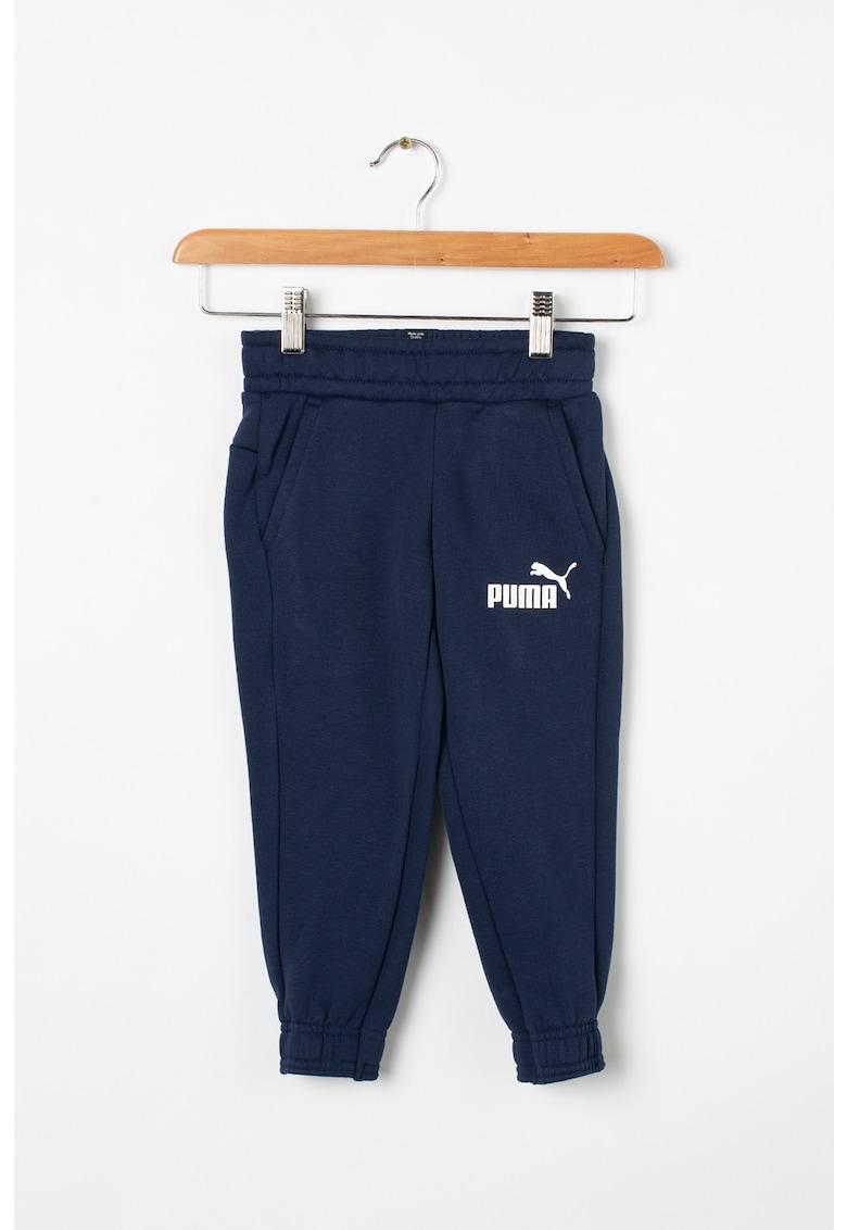 Pantaloni sport cu detaliu logo imagine