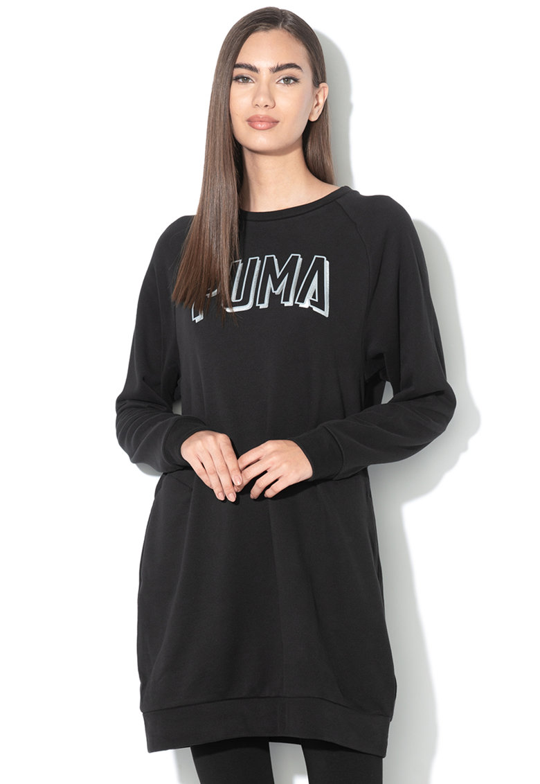 Rochie relaxed fit - cu logo