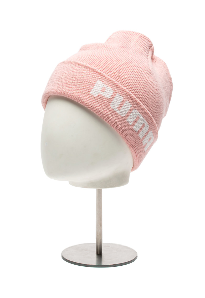 Caciula elastica din tricot cu logo