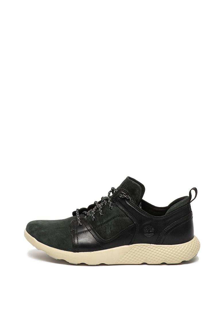 Pantofi casual de piele si piele nabuc Flyroam