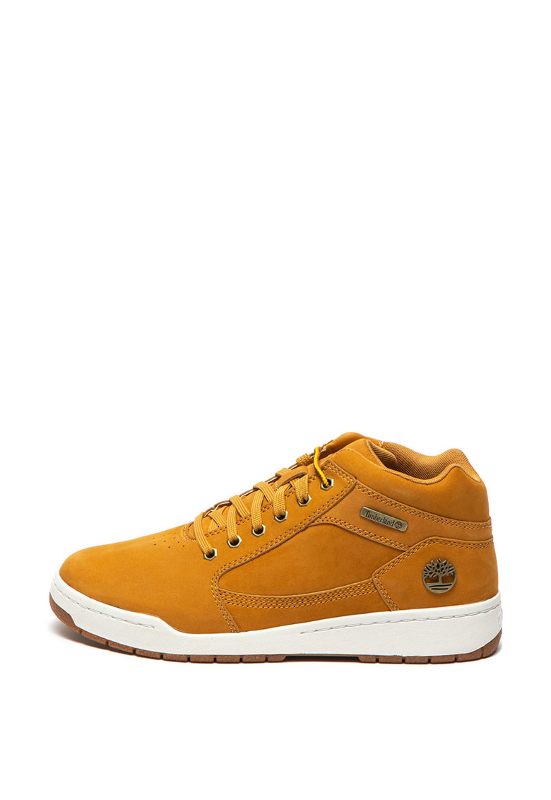 Pantofi sport mid-high de piele nabuc Bridgton
