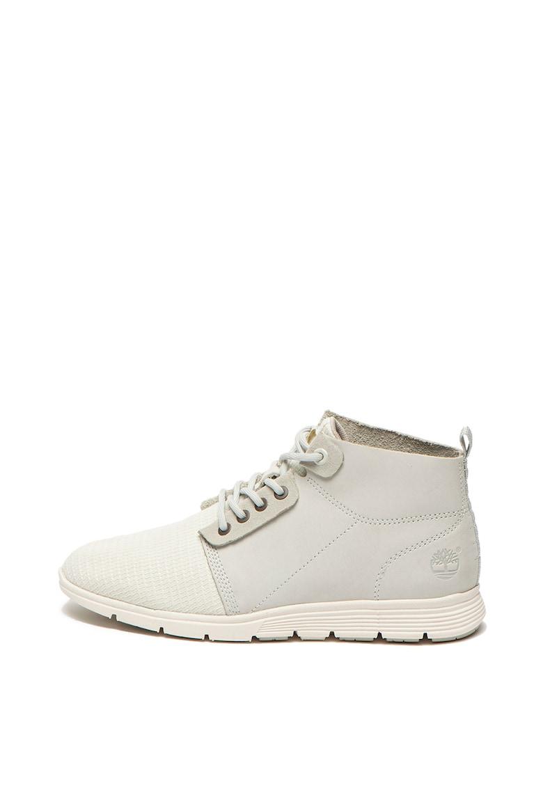 Pantofi casual usori - cu insertii de piele nabuc KIllington