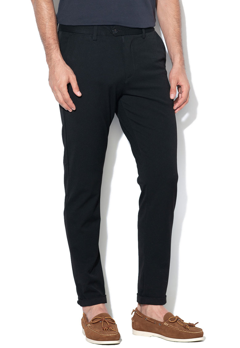 Pantaloni chino slim fit cu buzunare oblice Marco de la JackJones