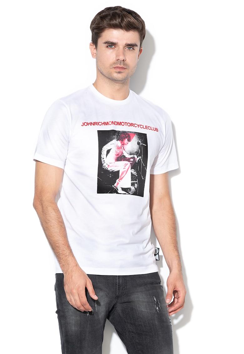 Tricou cu imprimeu grafic Rusiki
