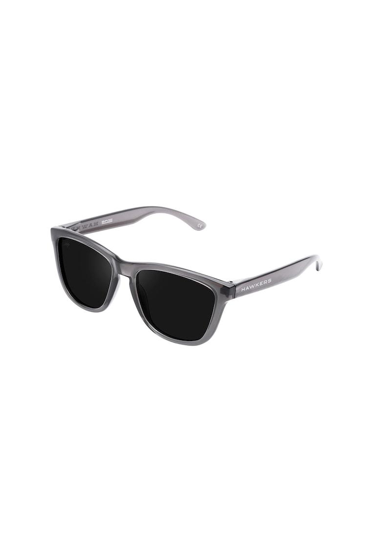 Ochelari de soare patrati unisex imagine fashiondays.ro Hawkers