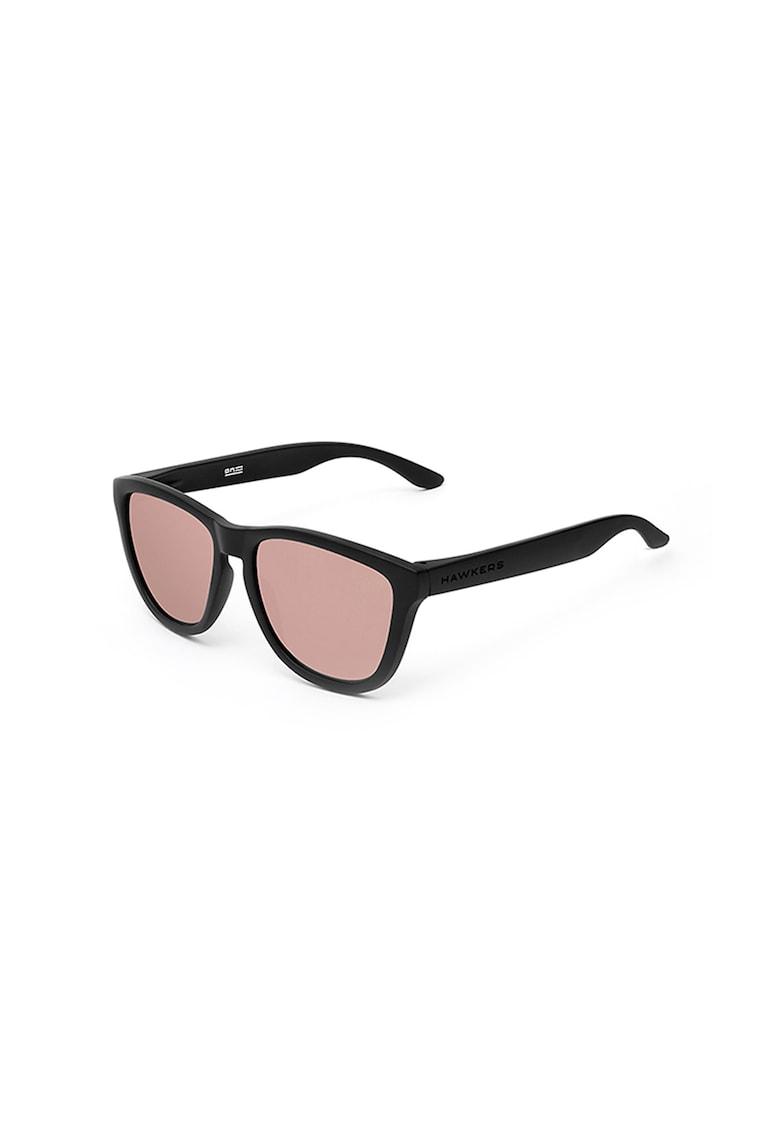 Ochelari de soare unisex cu aspect mat imagine fashiondays.ro Hawkers