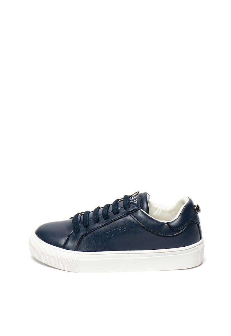 Pantofi sport slip-on de piele ecologica
