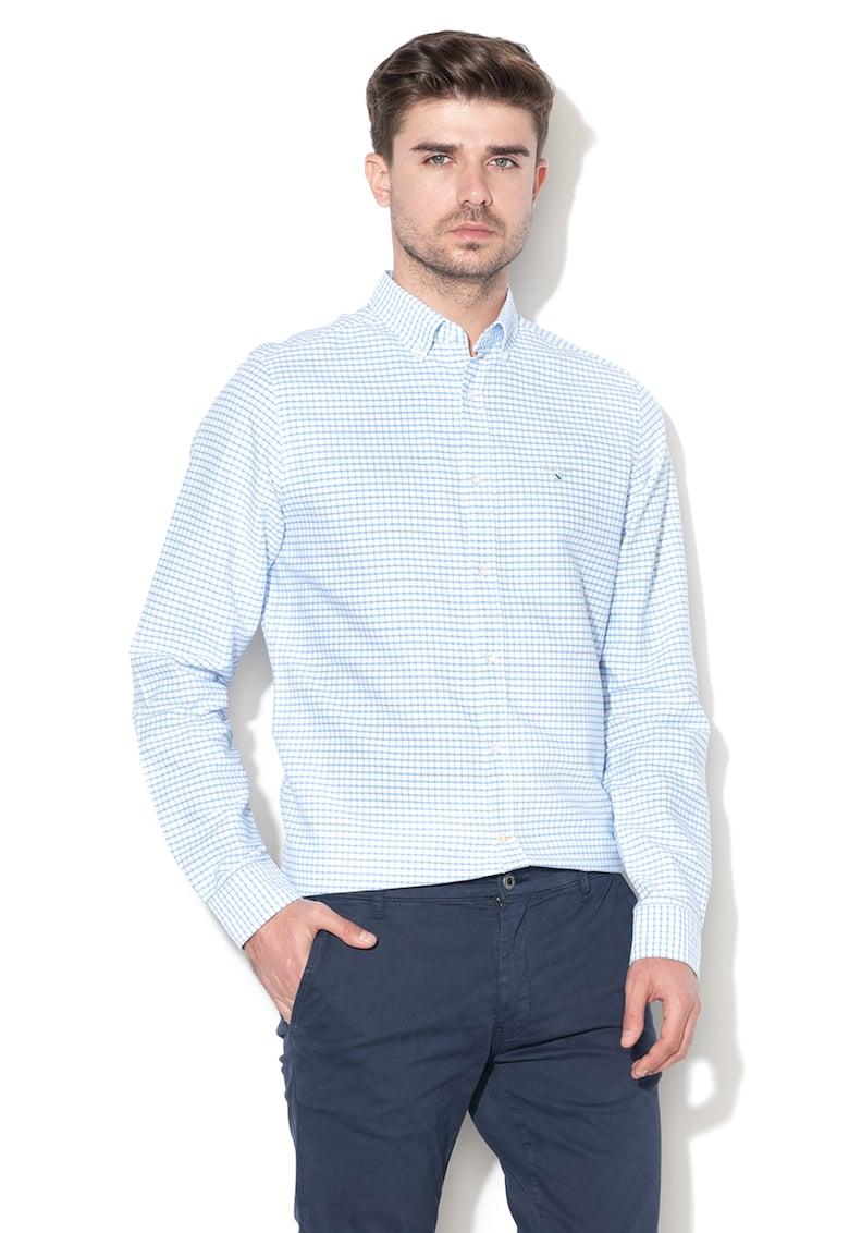 Camasa tailored fit in carouri Tattersall