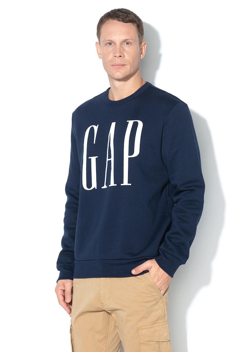 Bluza sport din amestec de bumbac - cu logo