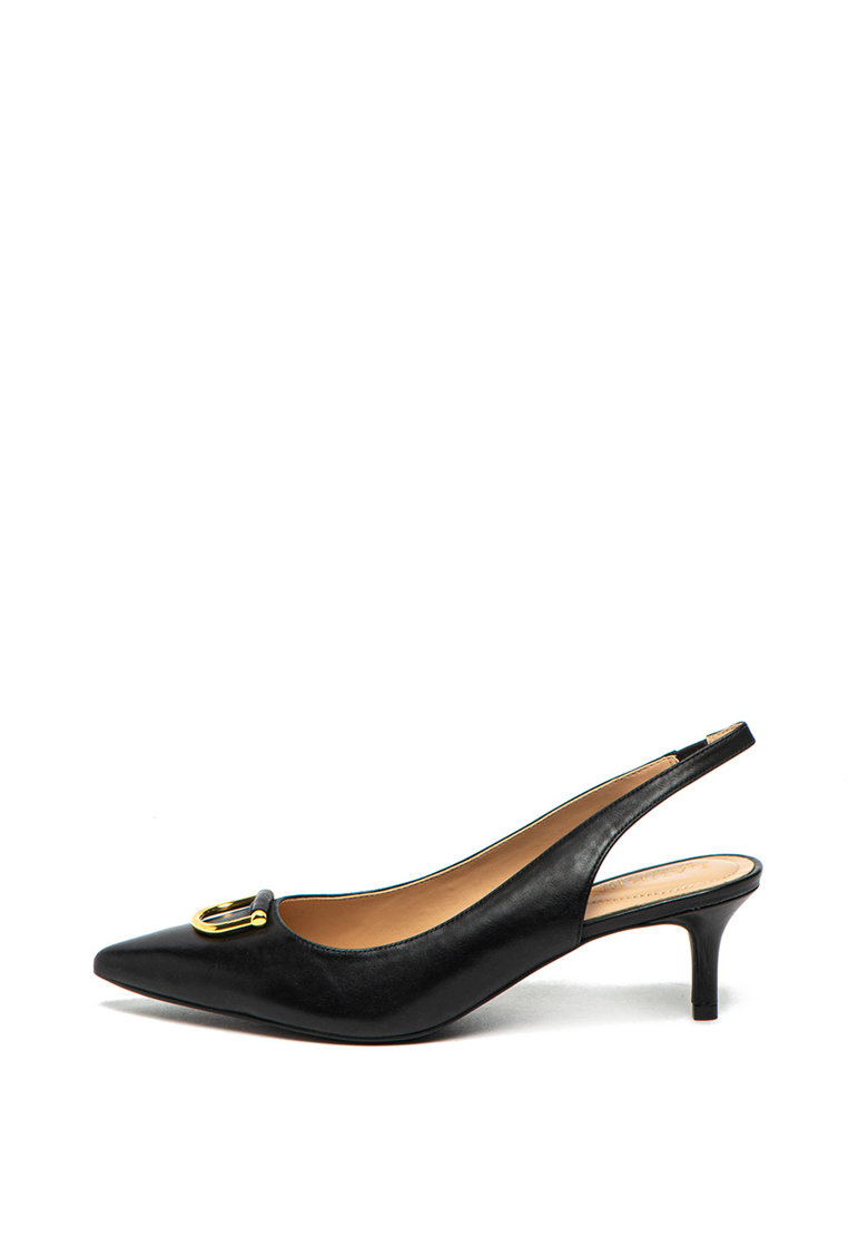 Pantofi slingback de piele Amsberg