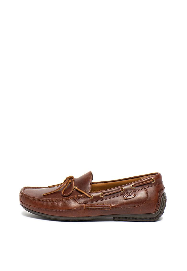 Pantofi boat de piele Roberts imagine fashiondays.ro 2021