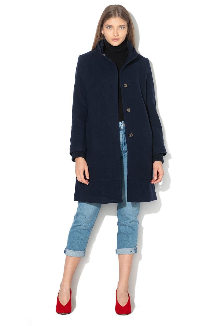 Palton drept din amestec de lana imagine fashiondays.ro Banana Republic