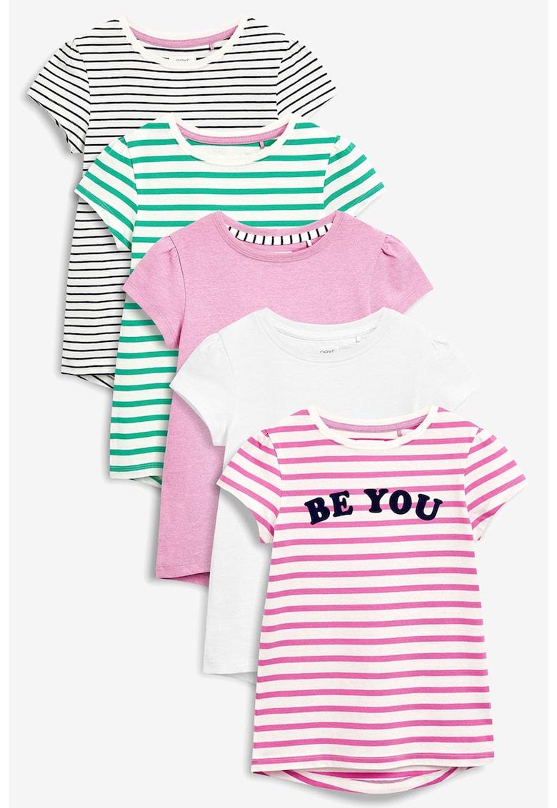 Set de tricouri cu terminatie asimetrica- 5 piese de la NEXT
