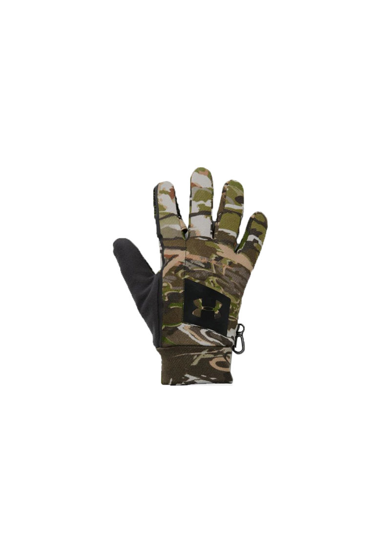 Manusi sport  Early Fleece pentru barbati - Forest Camo/Charcoal