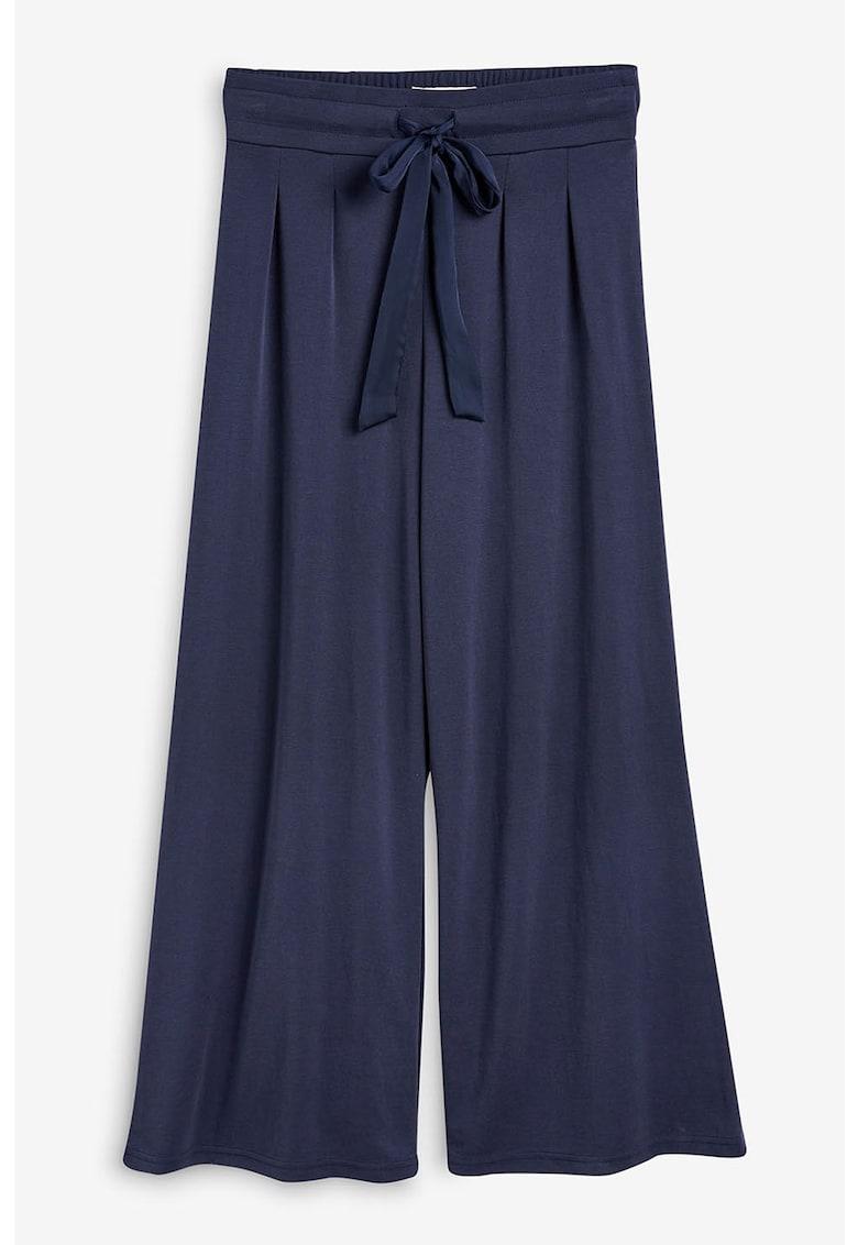 Pantaloni din amestec de modal - cu croiala ampla de la NEXT