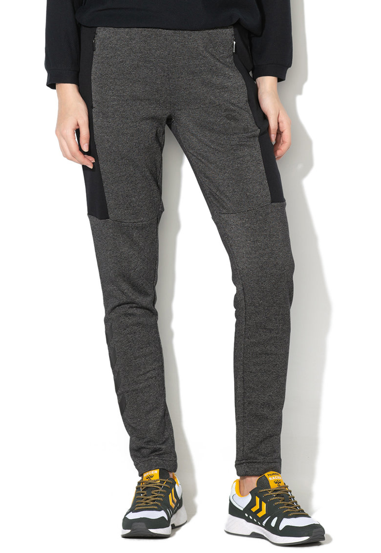 Pantaloni cu buzunare laterale cu fermoar Jemma