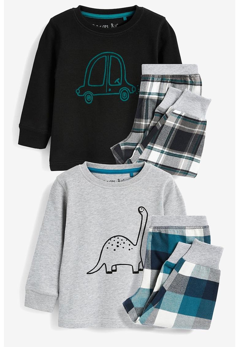 Set de pijamale cu imprimeu - 2 perechi de la NEXT