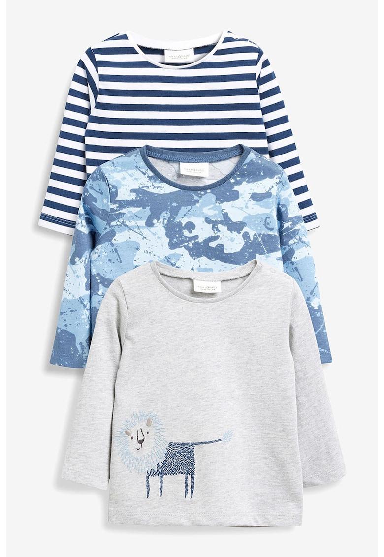 Set de bluze cu imprimeu – 3 piese de la NEXT