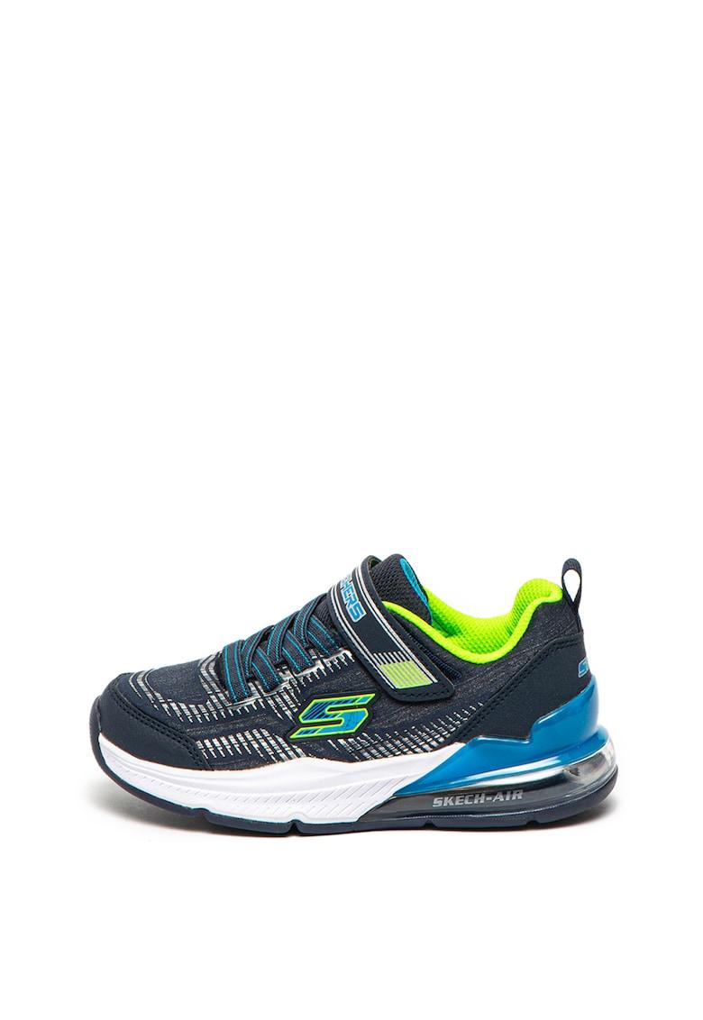 Pantofi sport cu insertii stralucitoare Skech-Air Blast-Tallix Skechers