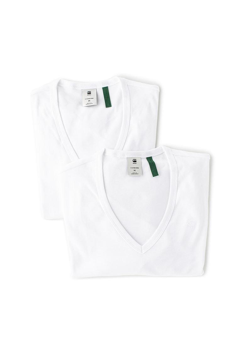 Set de tricouri de casa slim fit - din bumbac organic - 2 piese imagine