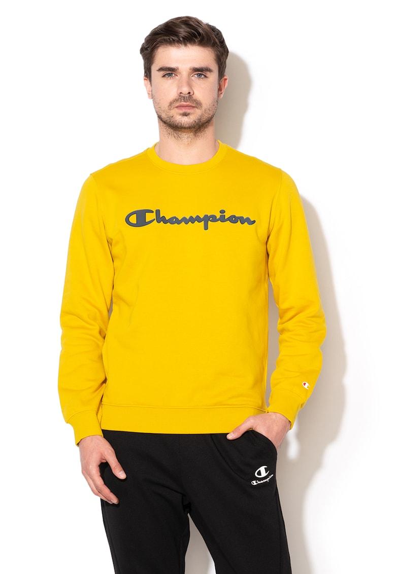 Bluza sport comfort fit cu captuseala din material fleece