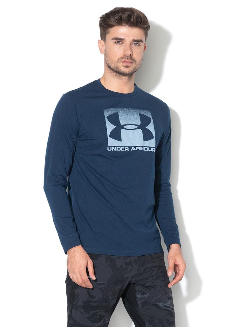 Bluza cu imprimeu logo - pentru antrenament Boxed imagine fashiondays.ro Under Armour