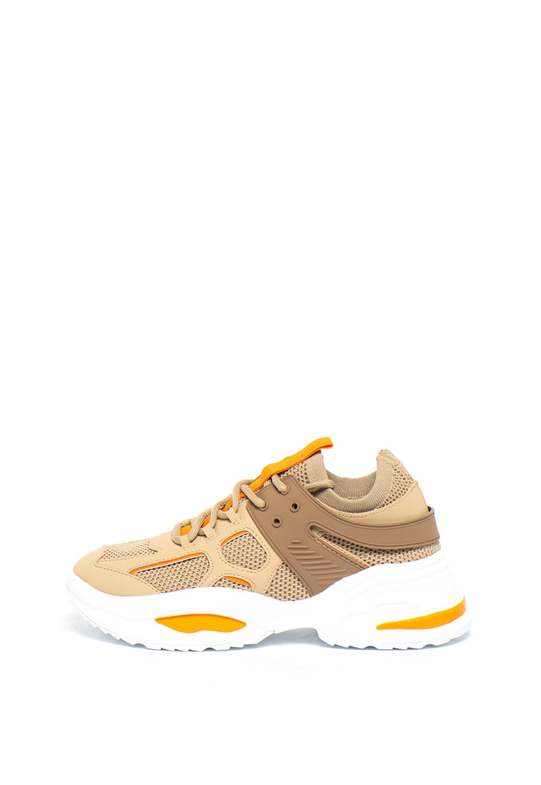 Pantofi sport slip-on cu detalii contrastante Fontina