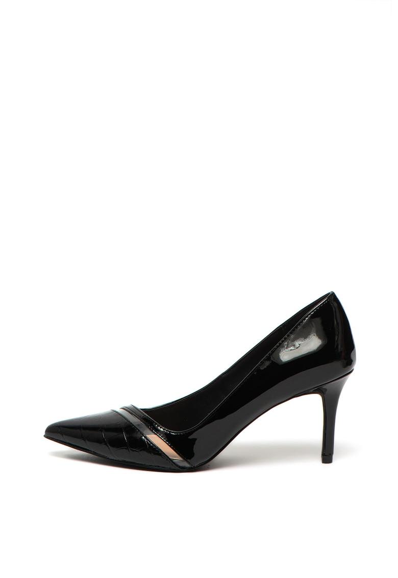 Pantofi de piele ecologica - cu aspect lacuit Stellas de la Call It Spring