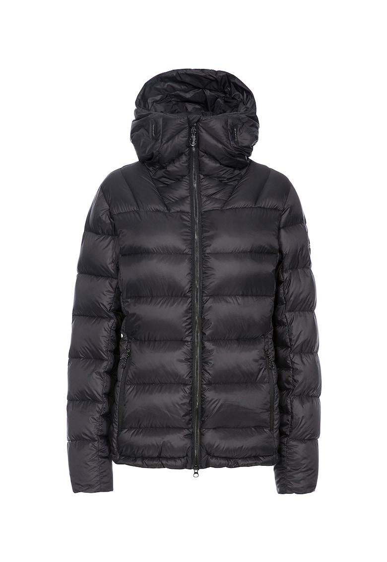 Jacheta cu umplutura de puf – gluga si aspect matlasat Pedley Trespass