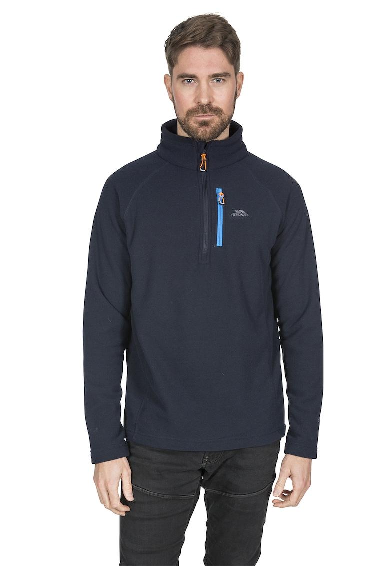 Bluza sport din fleece cu fenta cu fermoar Structual Trespass