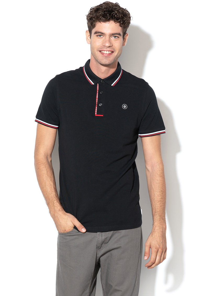 Tricou polo regular fit Challenge